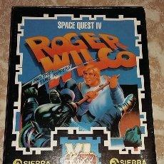 Videojuegos y Consolas: ROGER WILCO. SPACE QUEST IV PC 3 1/2. 1991. ERBE MAXI JOGOS. Lote 102282091