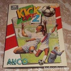 Videojuegos y Consolas: KICK OFF 2. PC Y COMPATIBLES PC 3 1/2. 1991. ANCO. Lote 102282223