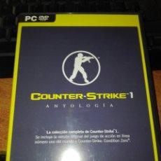 Videojuegos y Consolas: COUNTER STRIKE 1 ANTOLOGÍA PC. Lote 102454660