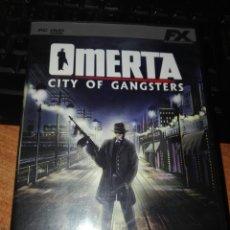 Videojuegos y Consolas: OMERTA CITY OF GÁNGSTERS PC. Lote 102454810