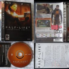 Videojuegos y Consolas: 2 JUEGOS PARA PC HALF LIFE 2 + EPISODE ONE + HL2 INCLUYE DEATHMATCH. Lote 102508787