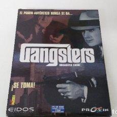 Videojuegos y Consolas: ANTIGUO JUEGO DE PC GANGSTER. Lote 102686427