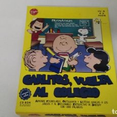 Videojuegos y Consolas: ANTIGUO JUEGO DE PC CARLITOS VUELTA AL COLEGIO. Lote 102686879
