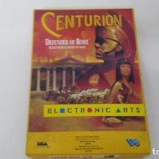 Videojuegos y Consolas: ANTIGUO JUEGO DE PC CENTURION JUEGO DISKETTE. Lote 102687067