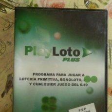 Videojuegos y Consolas: PROGRAMA PARA HACER CONBINACIONES DE 6/49 - PC - LOTO - PRIMITIVA - BONOLOTO - COMBINATORIA -. Lote 102843995