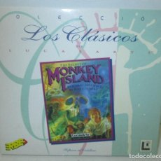 Videojuegos y Consolas: JUEGO PC, THE SECRET OF MONKEY ISLAND , COLECCIÓN LOS CLÁSICOS DE LUCASARTS, LUCASFILM ERBE 1996. Lote 103069803