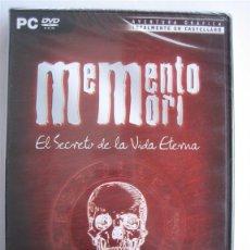 Videojuegos y Consolas: MEMENTO MORI - AVENTURA - JUEGO PC. Lote 103083523
