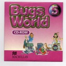 Videojuegos y Consolas: CD-ROM - BUGS WORLD 5 - MACMILLAN. Lote 103110783