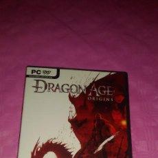 Videojuegos y Consolas: JUEGO PARA PC PC.DVD DRAGON AGE ORIGINS COMO NUEVO!!!!!!!!!!!!!!!!!!!. Lote 103438347