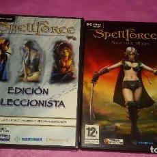 Videojuegos y Consolas: PACK JUEGOS PARA PC.SPELLFORCE EDICIÓN COLECCIONISTA+SPELLFORCE 2 COMO NUEVO!!!!!!!!!!. Lote 103441335