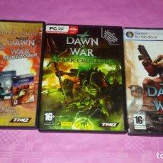 Videojuegos y Consolas: PACK JUEGOS PC.WARHAMMER 40.000:DAWN OF WAR+WINTER ASSAULT+DARK CRUSADE+DAWNOF WAR 2. Lote 103443935