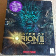 Videojuegos y Consolas: MASTER OF ORION II 2 BATTLE AT ANTARES PC GAME BIG BOX CD SEALED KREATEN. Lote 103517231