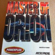 Videojuegos y Consolas: MASTER OF ORION MICROPROSE POWERPLUS PC GAME BIG BOX KREATEN. Lote 103519459