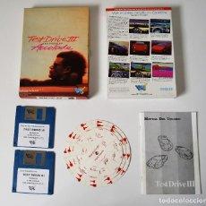 Videojuegos y Consolas: TEST DRIVE 3 PC 3.5 (DRO SOFT). PRIMERA EDICION ESPAÑOLA.. Lote 103873119