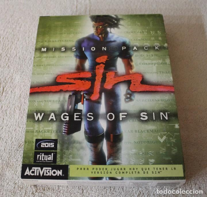 SIN WAGES OF SIN PC BOX CAJA CARTON (Juguetes - Videojuegos y Consolas - PC)