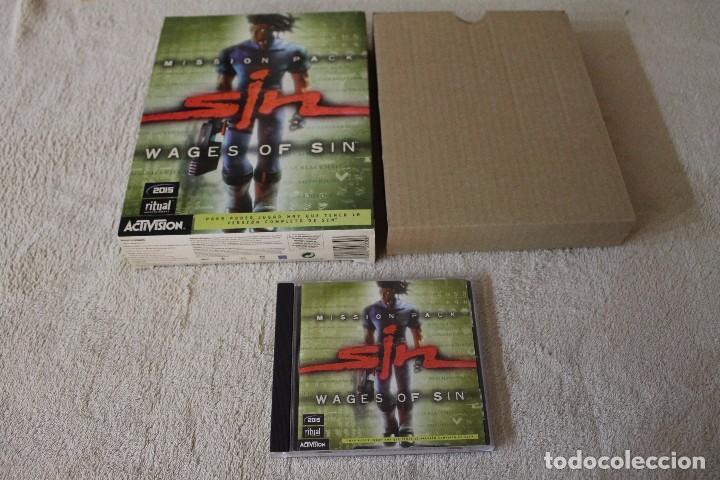 Videojuegos y Consolas: SIN WAGES OF SIN PC BOX CAJA CARTON - Foto 2 - 103874595