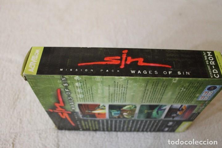 Videojuegos y Consolas: SIN WAGES OF SIN PC BOX CAJA CARTON - Foto 5 - 103874595