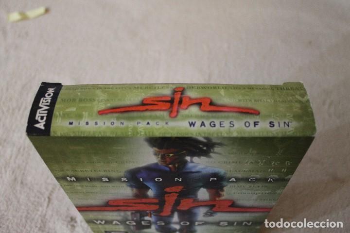 Videojuegos y Consolas: SIN WAGES OF SIN PC BOX CAJA CARTON - Foto 7 - 103874595