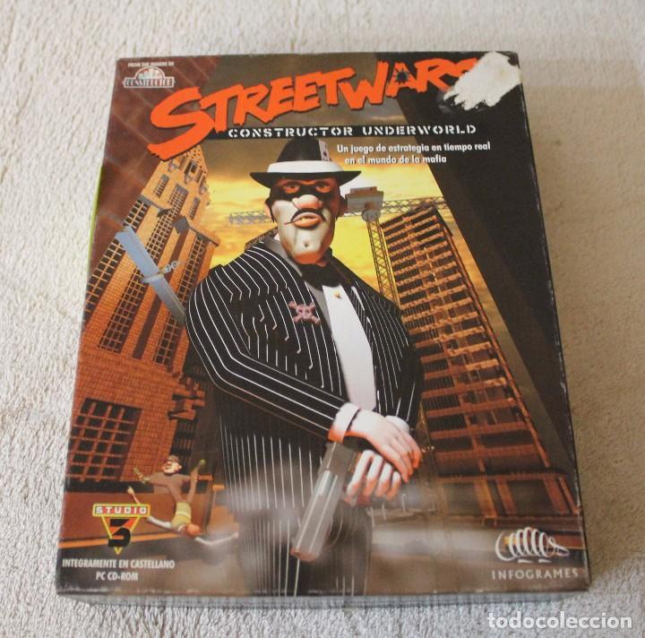 STREETWARS CONSTRUCTOR UNDERWORLD PC BOX CAJA CARTON (Juguetes - Videojuegos y Consolas - PC)