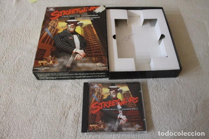 Videojuegos y Consolas: STREETWARS CONSTRUCTOR UNDERWORLD PC BOX CAJA CARTON - Foto 2 - 103874955