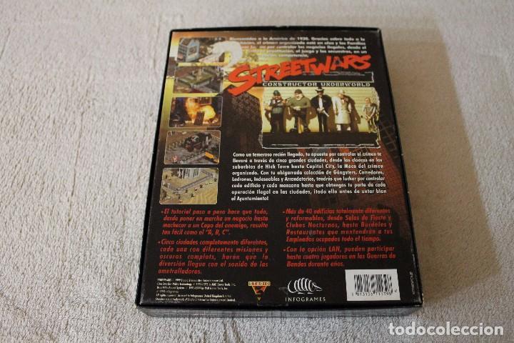 Videojuegos y Consolas: STREETWARS CONSTRUCTOR UNDERWORLD PC BOX CAJA CARTON - Foto 7 - 103874955