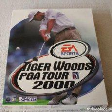Videojuegos y Consolas: TIGER WOODS PGA TOUR 2000 PC BOX CAJA CARTON . Lote 103876403