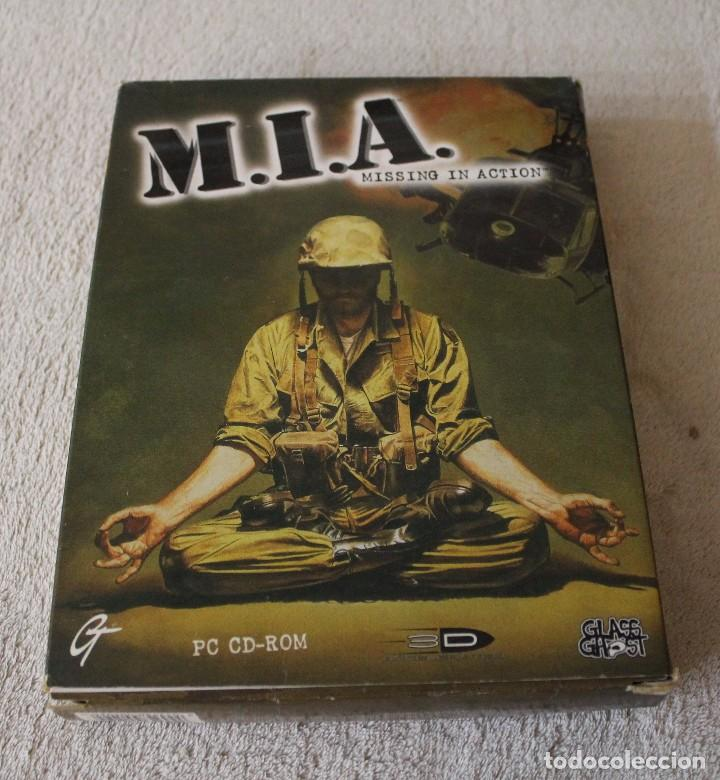 M.I.A. MISSING IN ACTION PC BOX CAJA CARTON (Juguetes - Videojuegos y Consolas - PC)