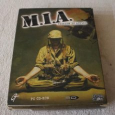 Videojuegos y Consolas: M.I.A. MISSING IN ACTION PC BOX CAJA CARTON. Lote 103877403