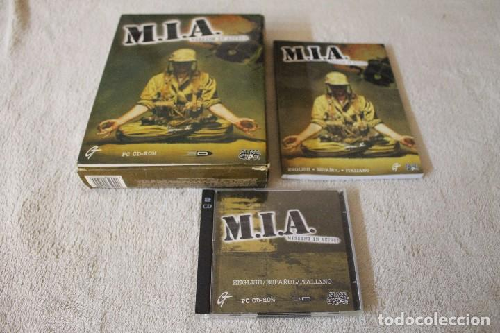 Videojuegos y Consolas: M.I.A. MISSING IN ACTION PC BOX CAJA CARTON - Foto 2 - 103877403