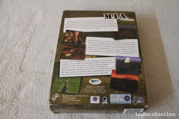 Videojuegos y Consolas: M.I.A. MISSING IN ACTION PC BOX CAJA CARTON - Foto 3 - 103877403