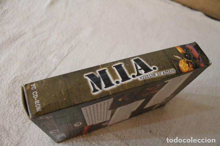 Videojuegos y Consolas: M.I.A. MISSING IN ACTION PC BOX CAJA CARTON - Foto 5 - 103877403