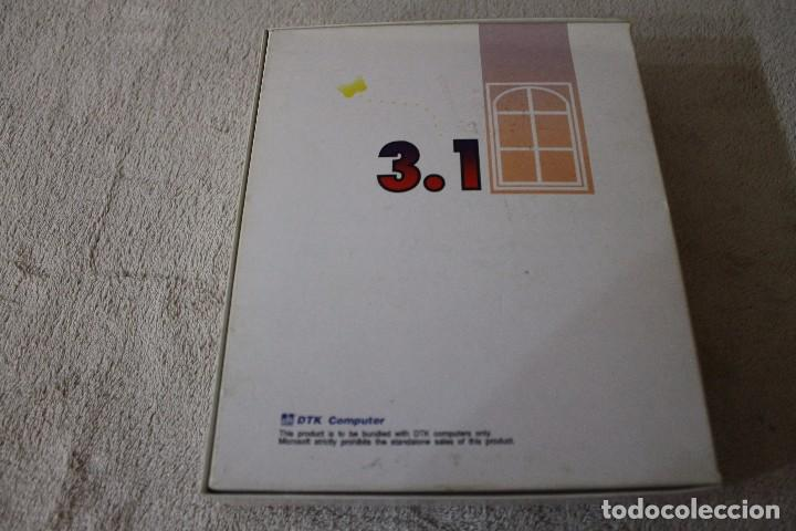 Videojuegos y Consolas: DTK COMPUTER MICROSOFT WINDOWS 3.1 PC BOX CAJA CARTON DISKETTES - Foto 4 - 103877715