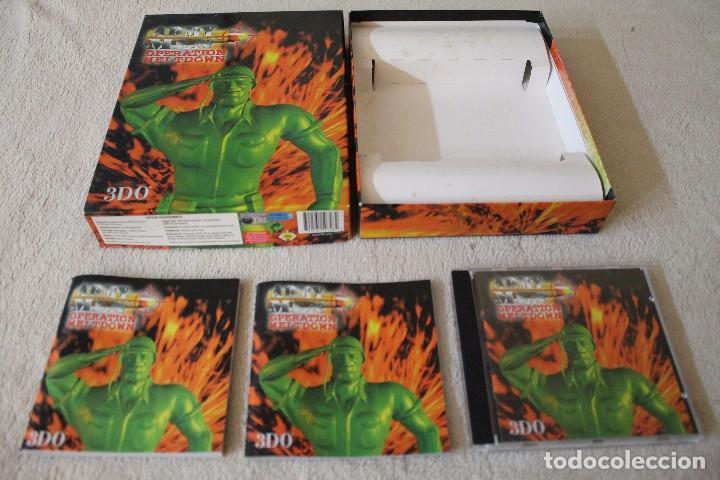 Videojuegos y Consolas: ARMY MEN OPERATION MELTDOWN PC BOX CAJA CARTON - Foto 2 - 103878027