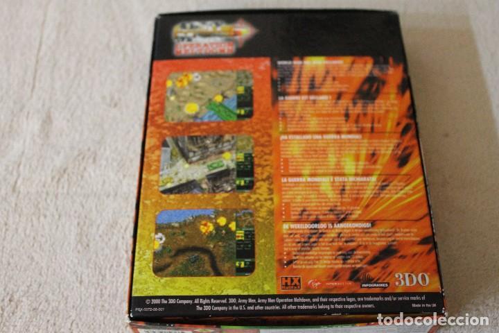 Videojuegos y Consolas: ARMY MEN OPERATION MELTDOWN PC BOX CAJA CARTON - Foto 4 - 103878027