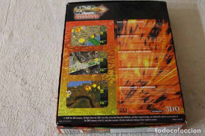 Videojuegos y Consolas: ARMY MEN OPERATION MELTDOWN PC BOX CAJA CARTON - Foto 6 - 103878027