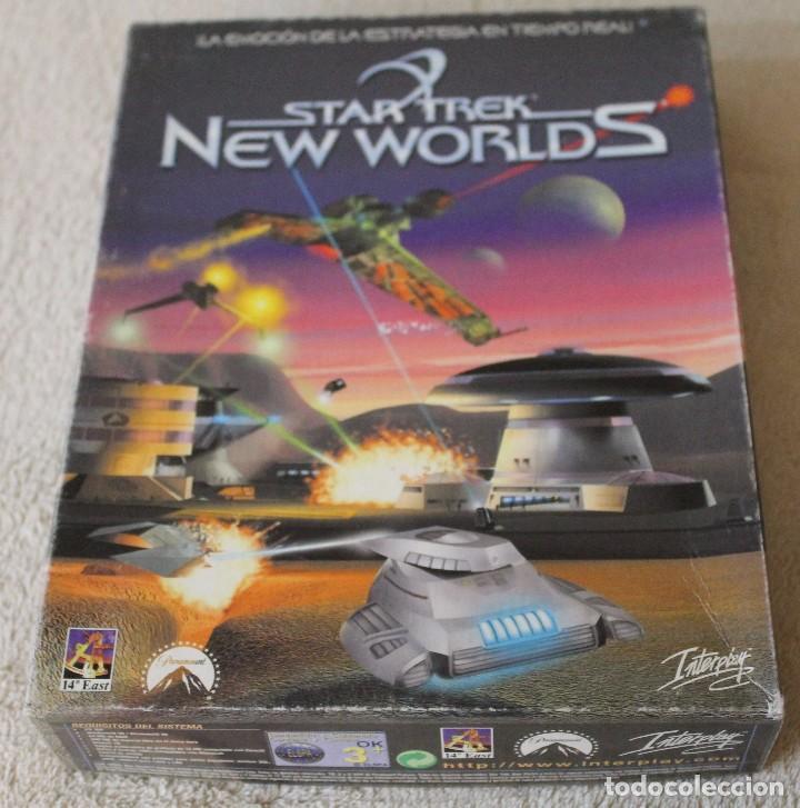 STAR TREK NEW WORLDS PC BOX CAJA CARTON (Juguetes - Videojuegos y Consolas - PC)