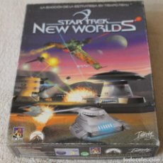 Videojuegos y Consolas: STAR TREK NEW WORLDS PC BOX CAJA CARTON. Lote 103878455