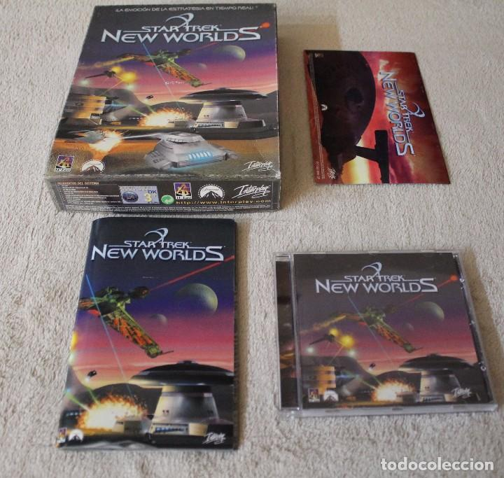 Videojuegos y Consolas: STAR TREK NEW WORLDS PC BOX CAJA CARTON - Foto 2 - 103878455