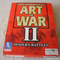 Videojuegos y Consolas: THE OPERATIONAL ART OF WAR II MODERN BATTLES PC BOX CAJA CARTON. Lote 103878747