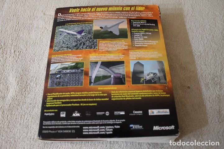 Videojuegos y Consolas: FLIGHT SIMULATOR 2000 PC BOX CAJA CARTON - Foto 5 - 103879447