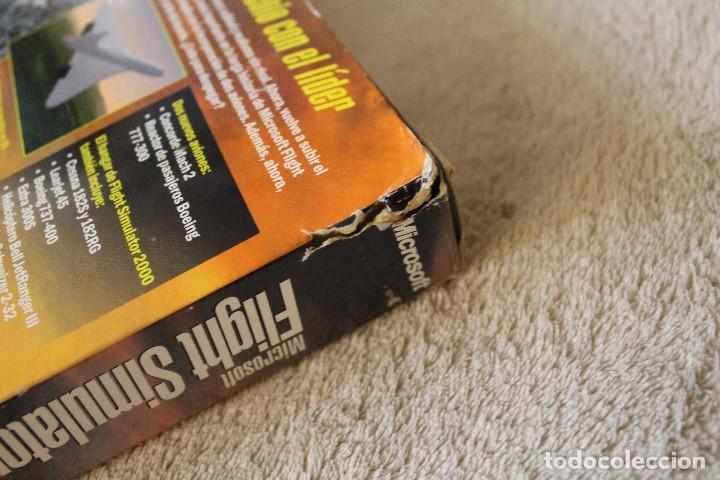 Videojuegos y Consolas: FLIGHT SIMULATOR 2000 PC BOX CAJA CARTON - Foto 6 - 103879447
