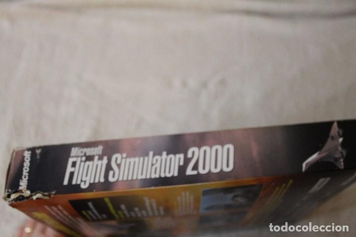 Videojuegos y Consolas: FLIGHT SIMULATOR 2000 PC BOX CAJA CARTON - Foto 8 - 103879447