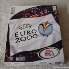 Videojuegos y Consolas: UEFA EURO 2000 PC BOX CAJA CARTON. Lote 103879667