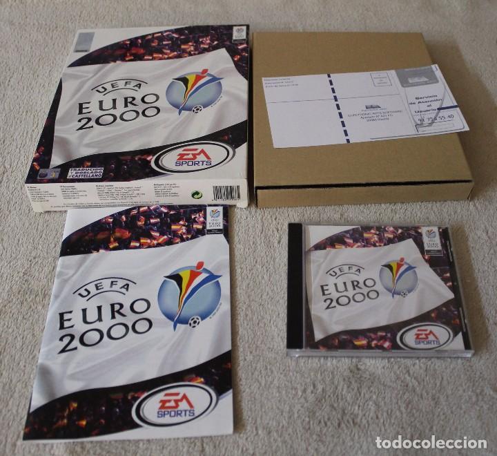 Videojuegos y Consolas: UEFA EURO 2000 PC BOX CAJA CARTON - Foto 2 - 103879667