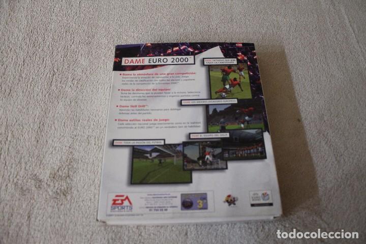 Videojuegos y Consolas: UEFA EURO 2000 PC BOX CAJA CARTON - Foto 3 - 103879667