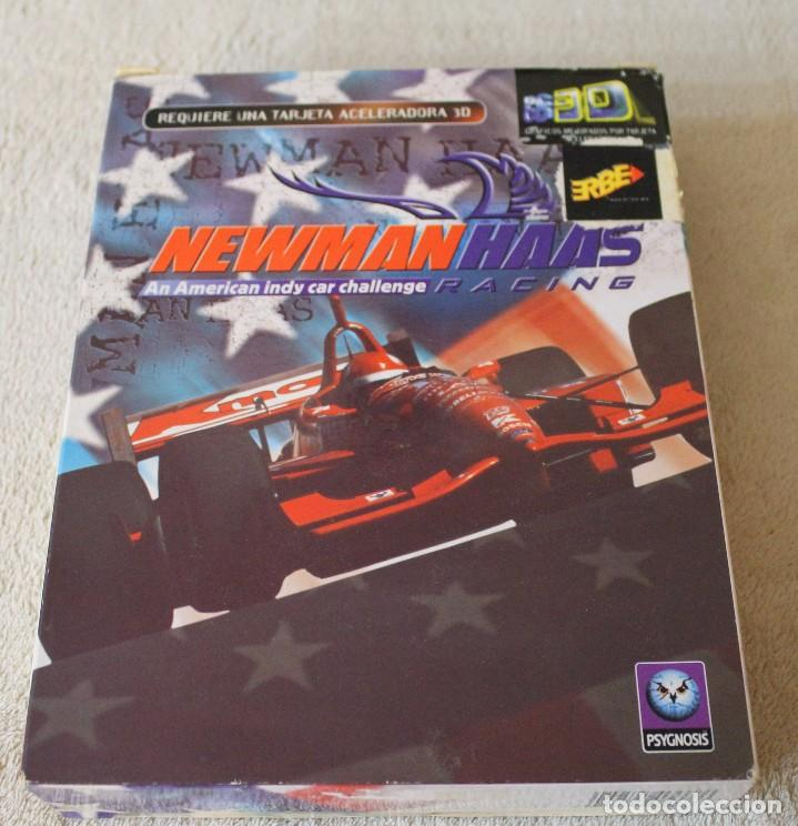NEWMAN HAAS AN AMERICAN INDY CAR CHALLENGE RACING PC BOX CAJA CARTON (Juguetes - Videojuegos y Consolas - PC)