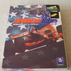 Videojuegos y Consolas: NEWMAN HAAS AN AMERICAN INDY CAR CHALLENGE RACING PC BOX CAJA CARTON. Lote 103880631