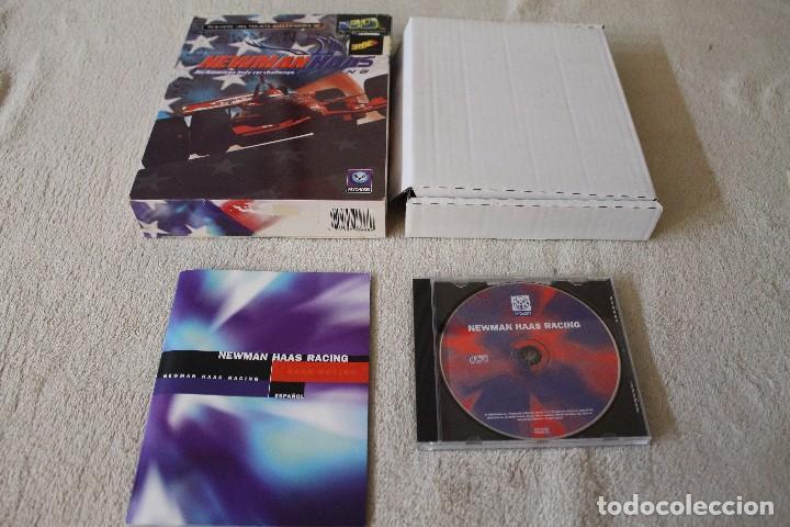 Videojuegos y Consolas: NEWMAN HAAS AN AMERICAN INDY CAR CHALLENGE RACING PC BOX CAJA CARTON - Foto 2 - 103880631
