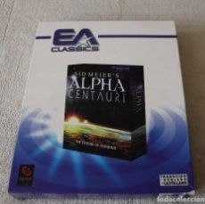 Videojuegos y Consolas: SID MEIER'S ALPHA CENTAURI THE FUTURE OF MANKIND PC BOX CAJA CARTON. Lote 103880863