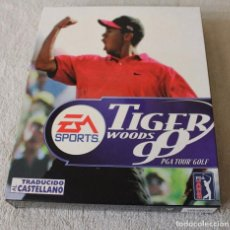 Videojuegos y Consolas: TIGER WOODS 99 PGA TOUR GOLF PC BOX CAJA CARTON. Lote 103881435